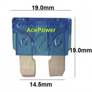 15A Fork Fuse