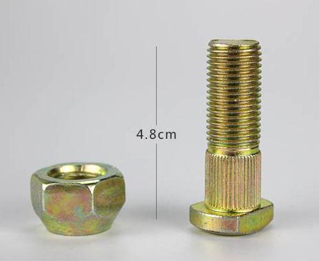 Rear Tyre Stud Bolt+Nut